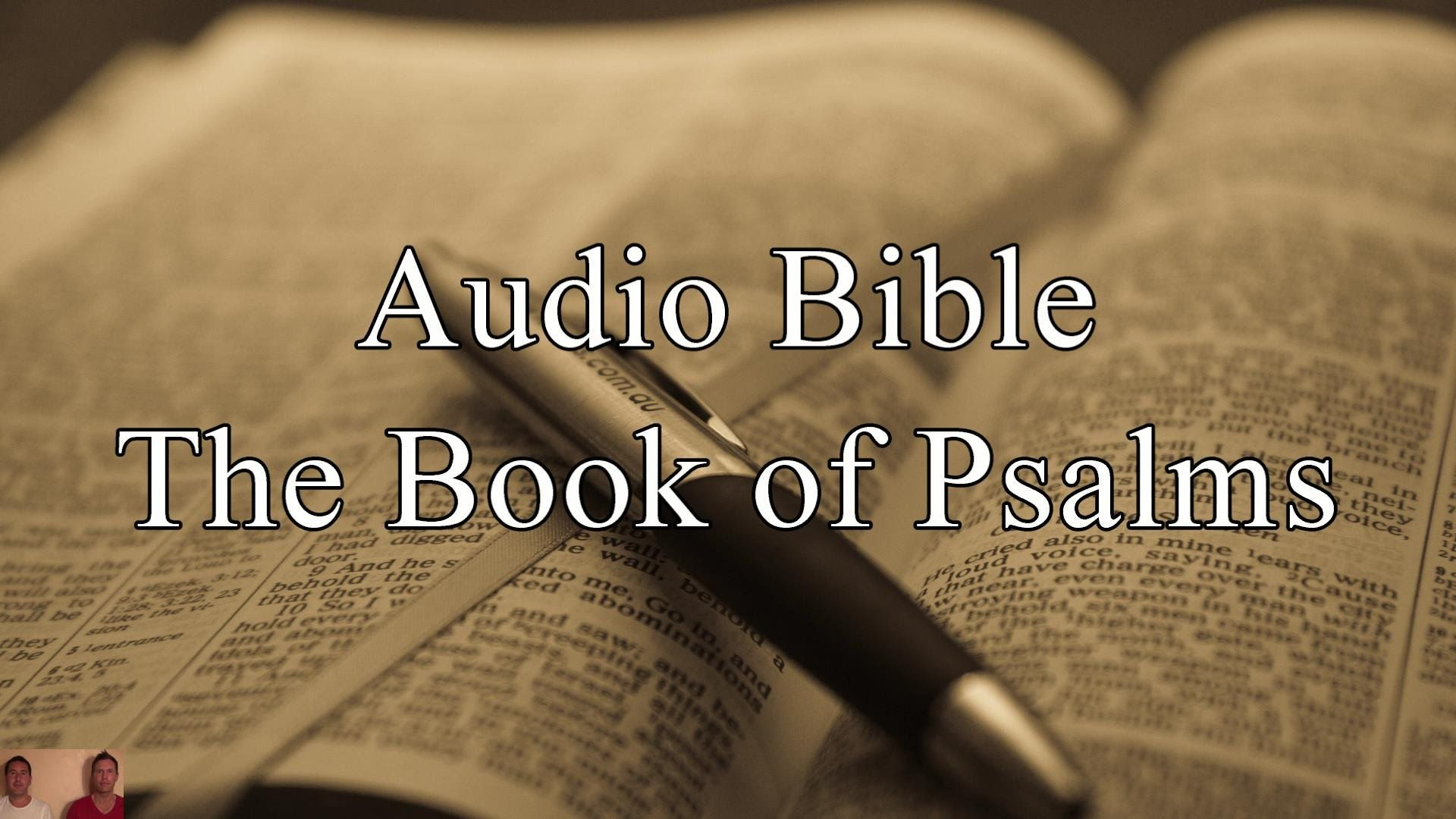 The Book of Psalms - KJV Audio Holy Bible - High Quality and