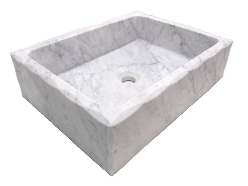 Details about Eden Bath Honed Antique Carrara Marble Rectangular