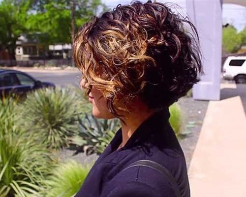Best Curly Short Hairstyles -   19 hairstyles Long wavy