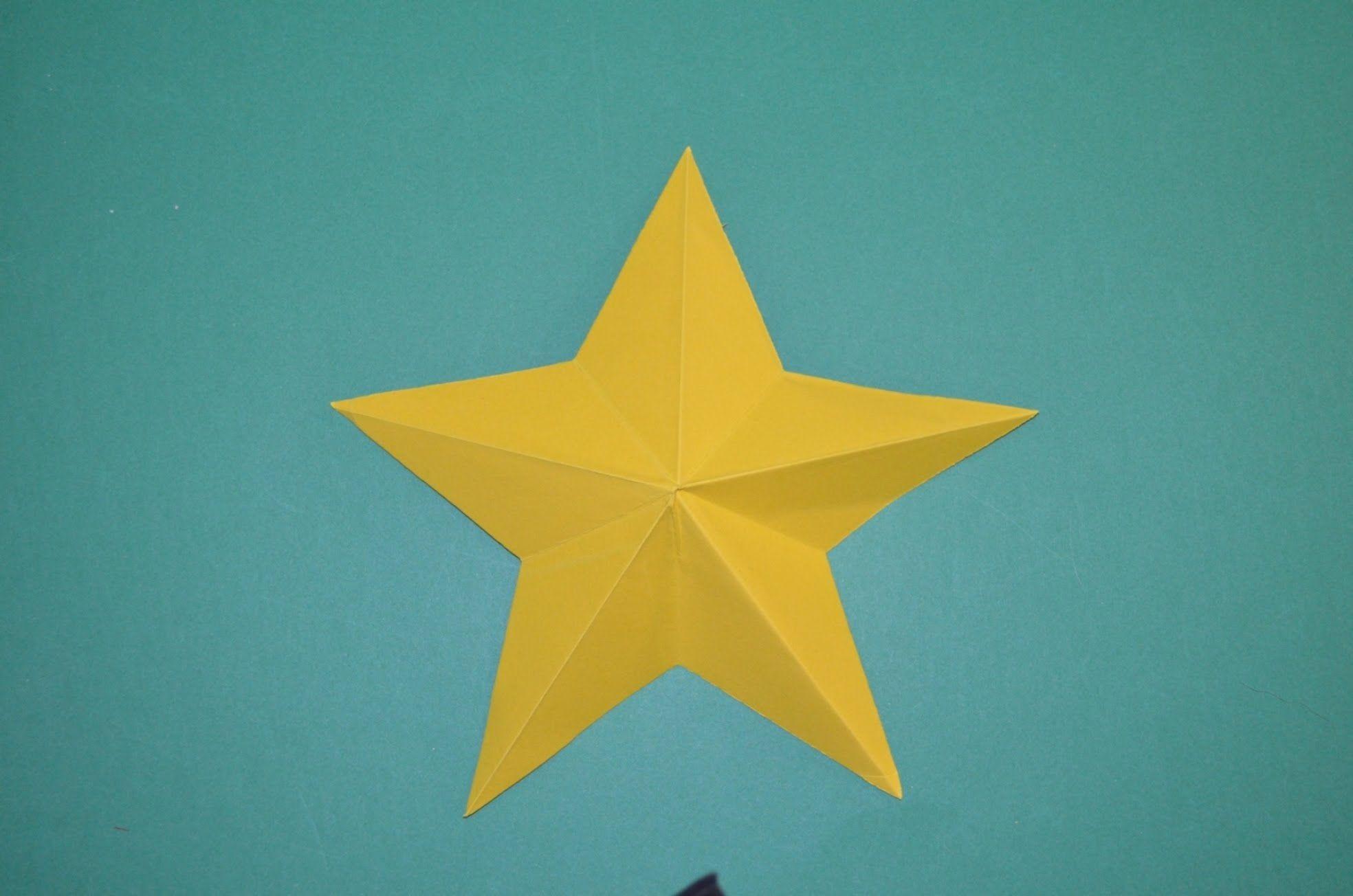 Como Hacer Una Estrella De Papel Facil Origami Diy And Crafts Diy Gifts