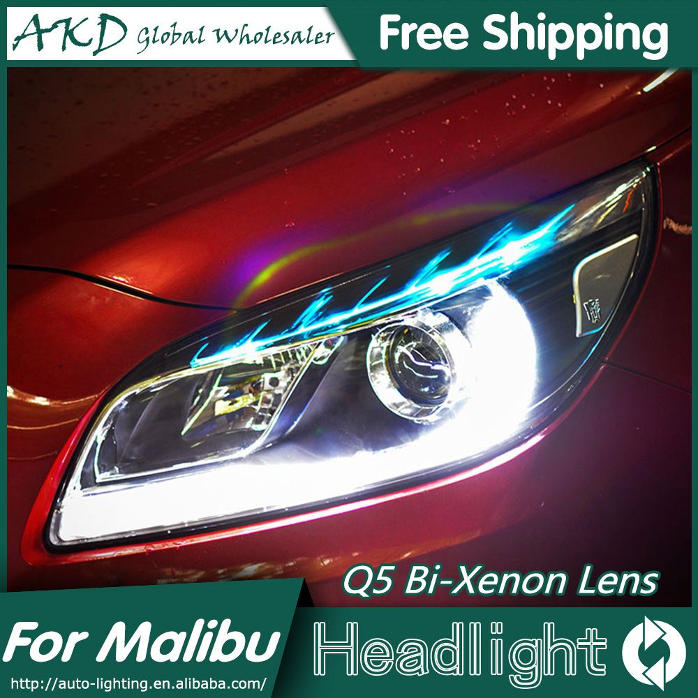 Akd Car Styling For Chevrolet Malibu Headlights 2012 2015 Malibu