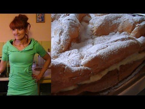 Karpatka Na Zyczenie Widza Kuchniarenaty Youtube Homemade Cakes Homemade Youtube