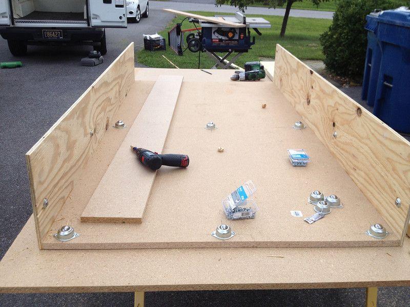 Home Built Truck Bed Slide The Garage Journal Board Tools