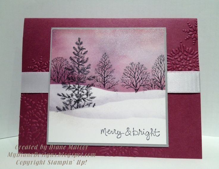 Superb Christmas Card Making Ideas Stampin Up Part - 10: Image Result For Stampin Up Lovely As A Tree Christmas Card Ideas