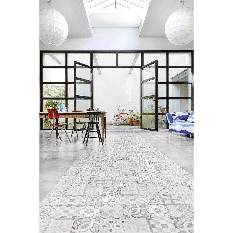 Lapeyre 23 E M2carrelage Devon 45 X 45 Cm Sols Murs Carreau De Ciment Imitation Carreaux De Ciment Ciment