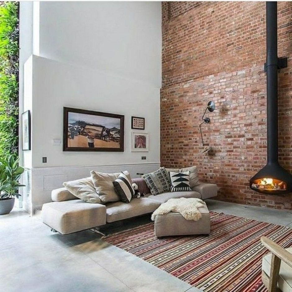 60 Fascinating Exposed Brick Wall Ideas For Living Room Brick