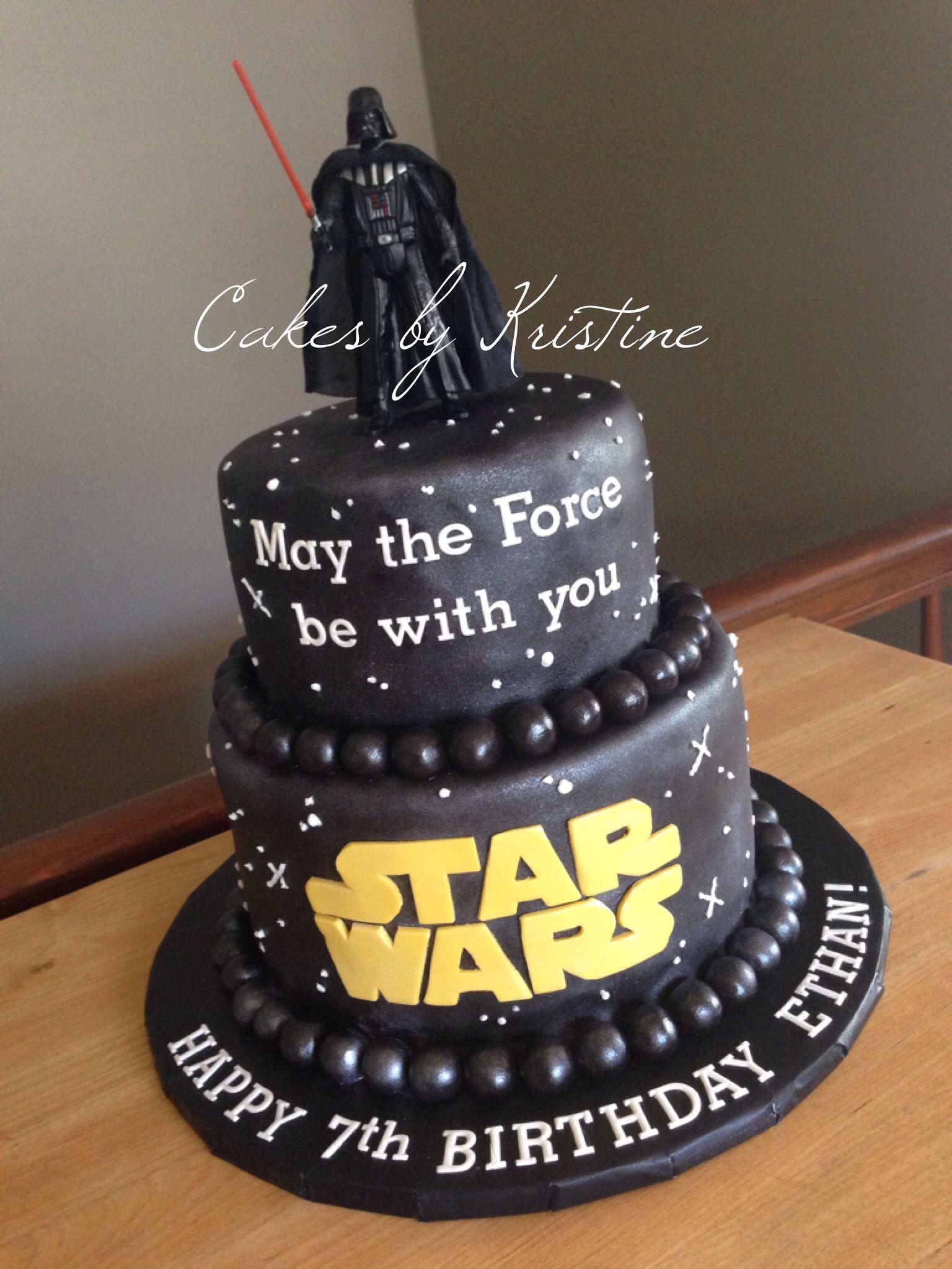 Star Wars Cake 3rd4th Birthdays Pinterest Star Wars Cake