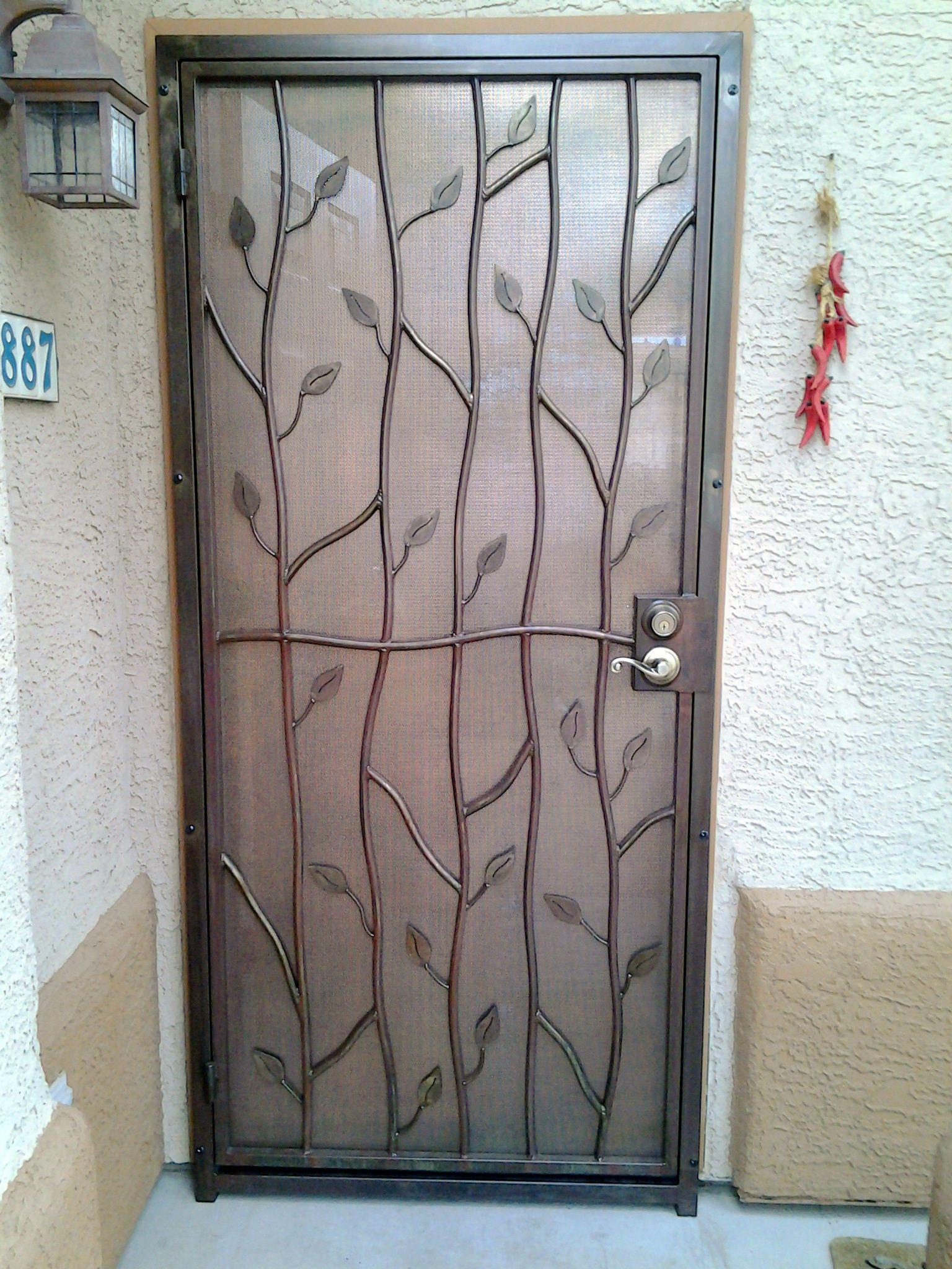Esters Leaf Door