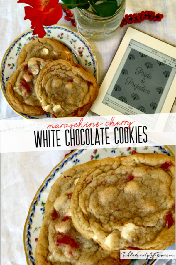 OhSoDelicious Maraschino Cherry White Chocolate Cookies Maraschino Cherry White Chocolate Cookies so chewy delicious and pretty for the holidays Also perfect for Valentin...