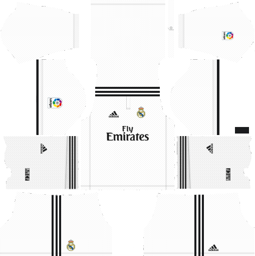 94ada7dadf2 ... league soccer Real Madrid kits 2018-2019. RMD is the winner of  Champions League season 2018 and the club defeated Liverpool in the final  match. The new ...