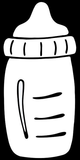 Free Image On Pixabay Bottle Milk Baby Newborn Food Baby Bottles Milk Bottle Baby Best Baby Bottles