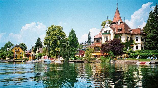 Villa Verdin, Millstättersee Places to go, Places