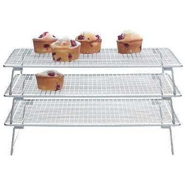 Need This 3 Tier Cooling Rack From Lakeland Cooling Racks Toy Kitchen Tiered
