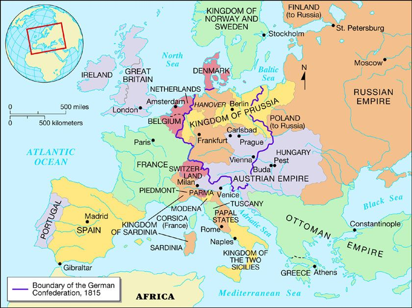 where is vienna in europe map The Congress of Vienna | Congress of vienna, Vienna, German history