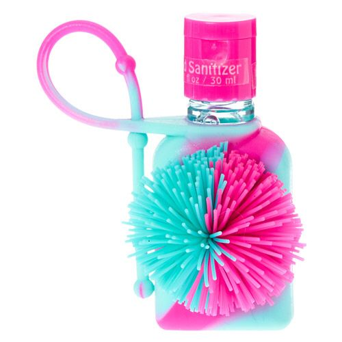Claires Tie Dye Koosh Ball Anti Bacterial Hand Sanitizer