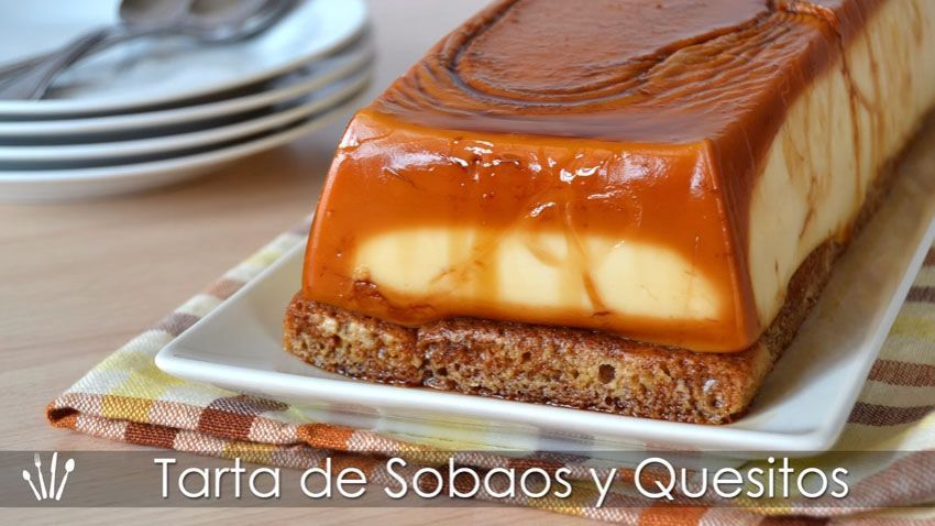 Tarta De Sobaos Y Quesitos Sin Horno Comparterecetas Com Desserts Food Cheesecake