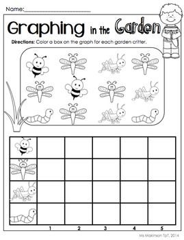 May Printables Kindergarten Literacy And Math Preschool Graphs