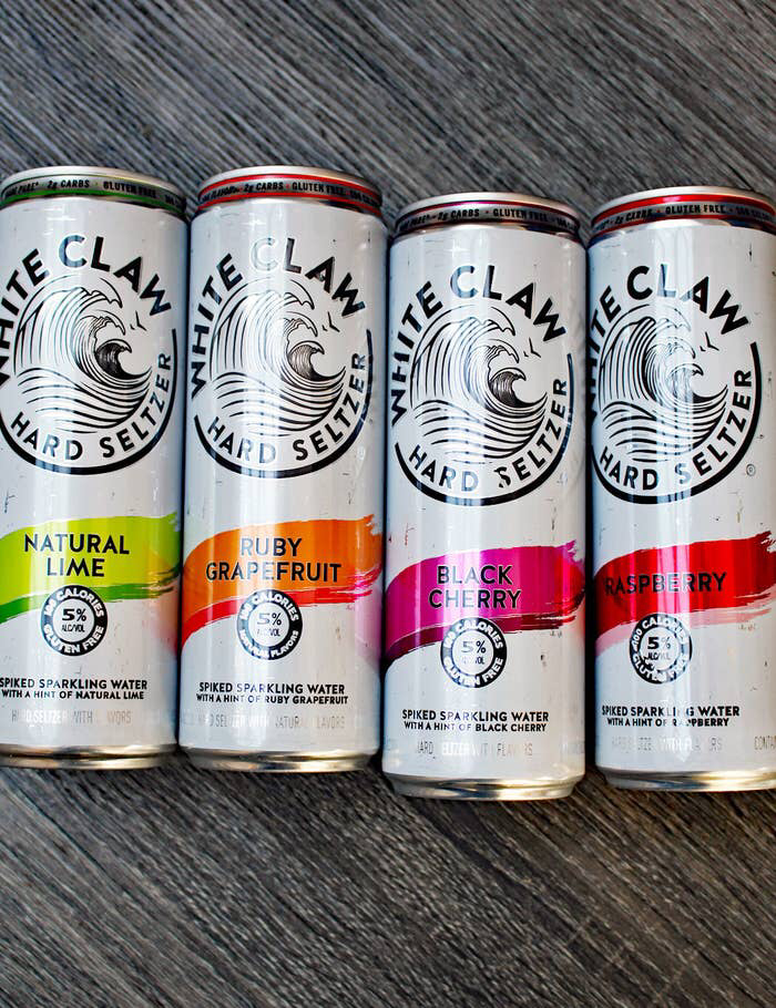 Psa You Should Really Be Making White Claw Cocktails Hard Seltzer Summer Vodka Cocktails Beer Cocktail Recipes