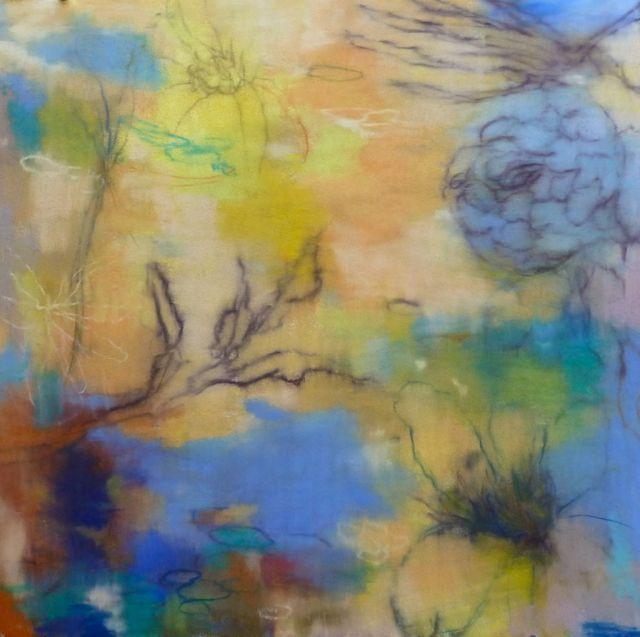 "Victoria Ryan ""March 1""  Original Pastel 20x20"