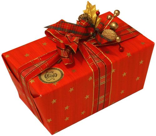 Image result for wrapped christmas boxes