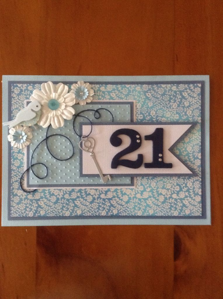 21st Birthday Card – Unique 21st Birthday Cards
