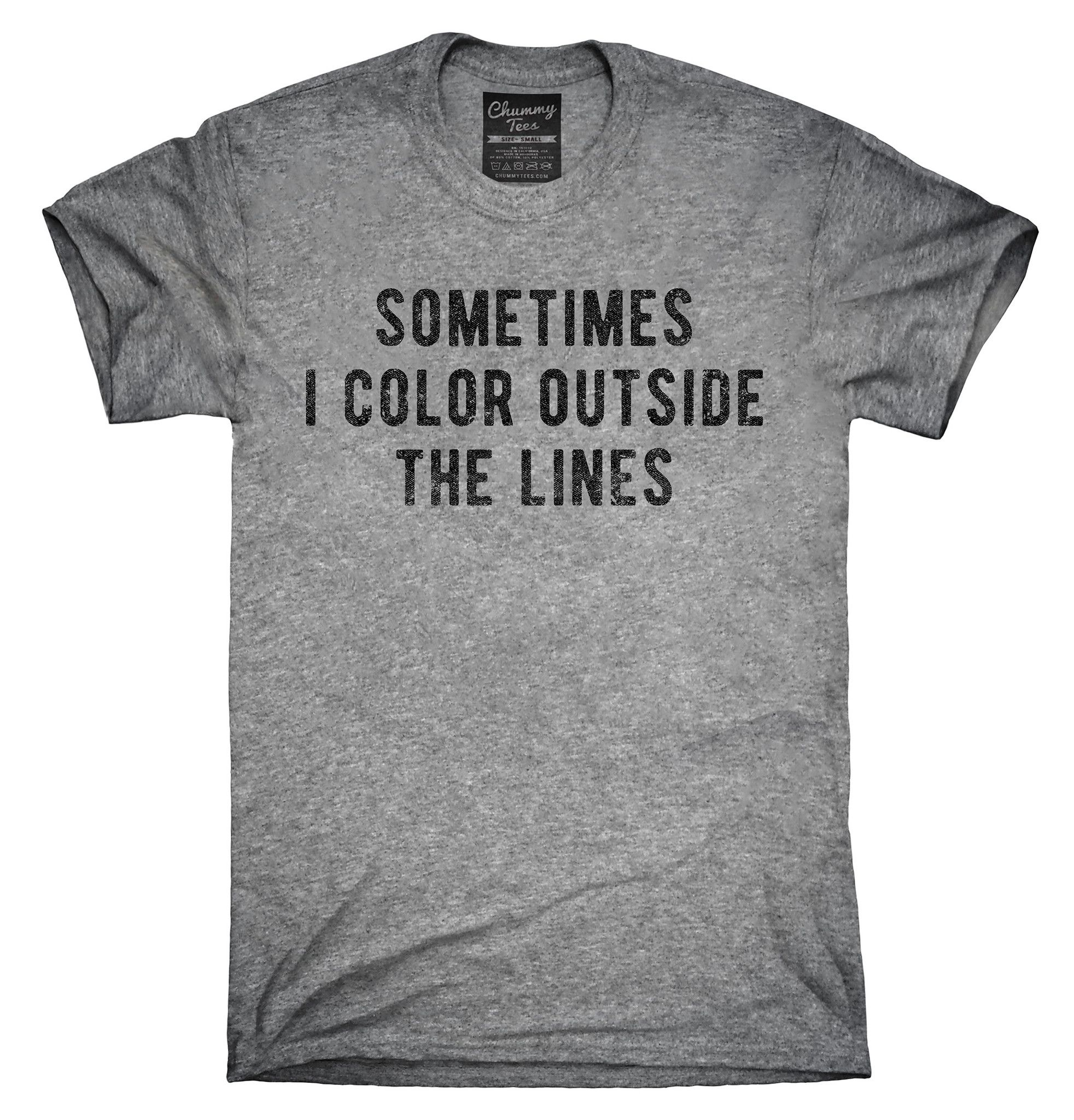 Sometimes I Color Outside The Lines Shirt, Hoodies, Tanktops