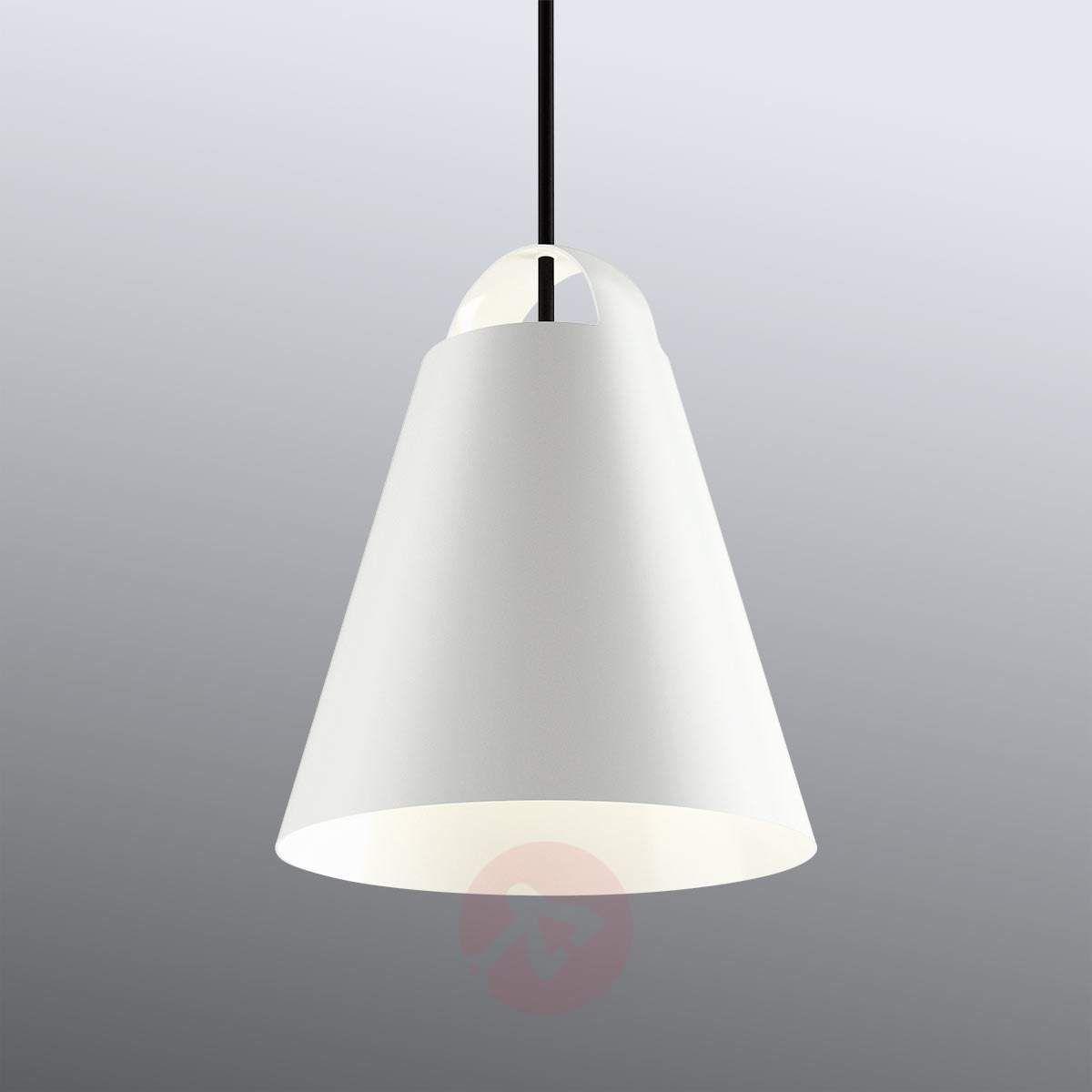 Louis Poulsen Above Lampa Wisząca Biała 25 Cm W 2019