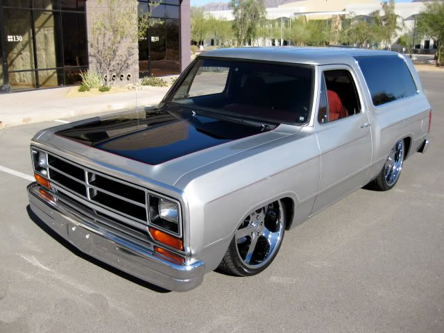 Lowered Ramcharger Google Search Dodge Trucks Lowrider Trucks Old Dodge Trucks