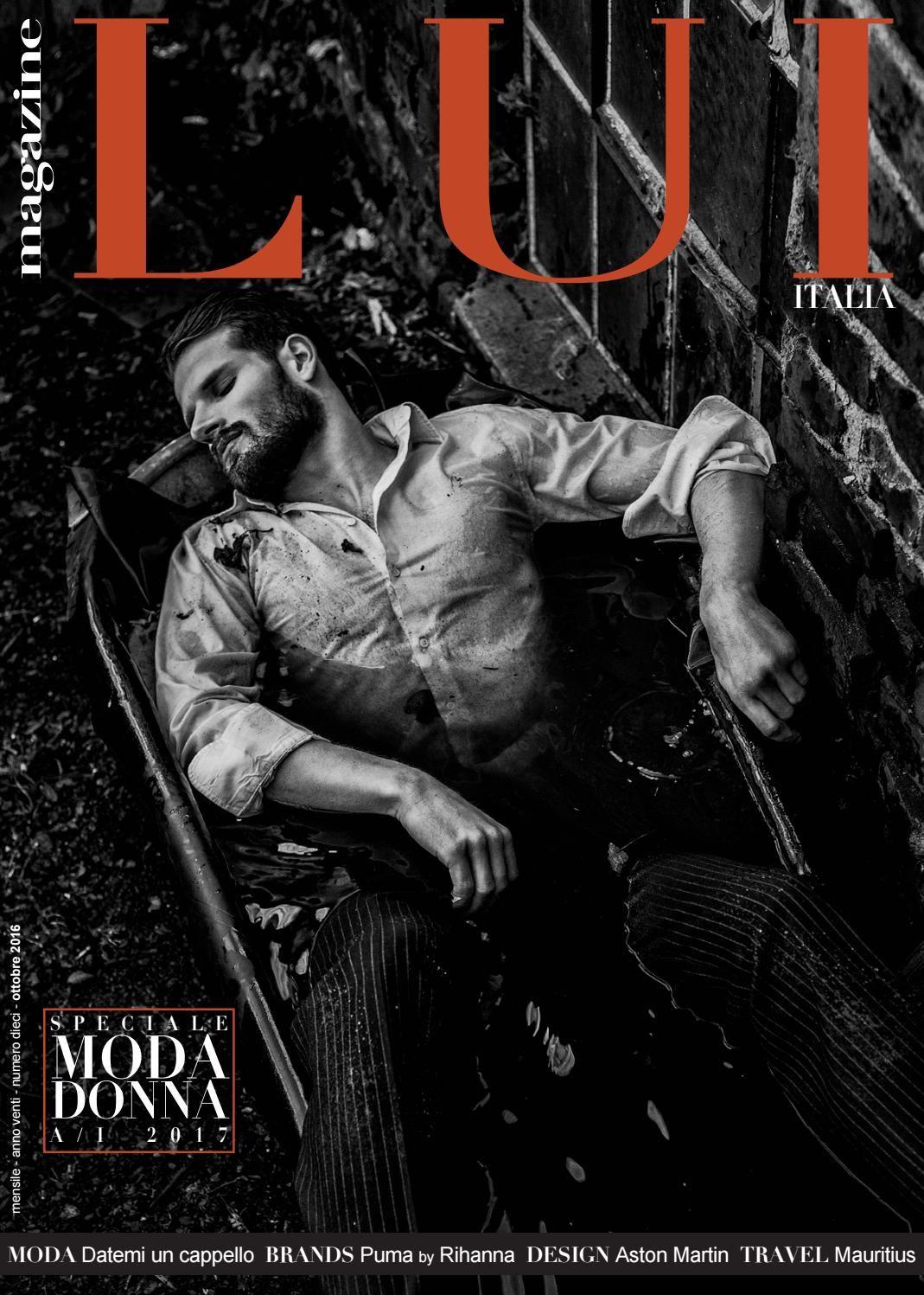 Male Fashion Trends: David Koch por Claudia Díaz para LUI Magazine