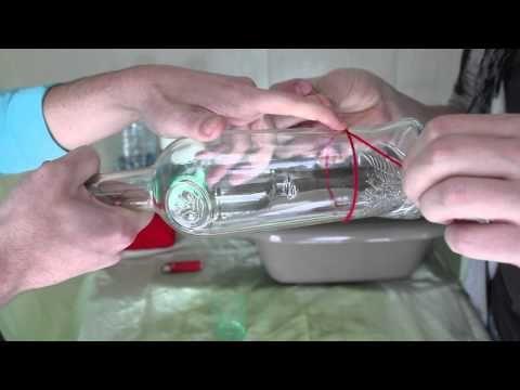 Les petits debrouillards couper bouteille de verre bricolage pinterest - Comment couper une bouteille de verre ...