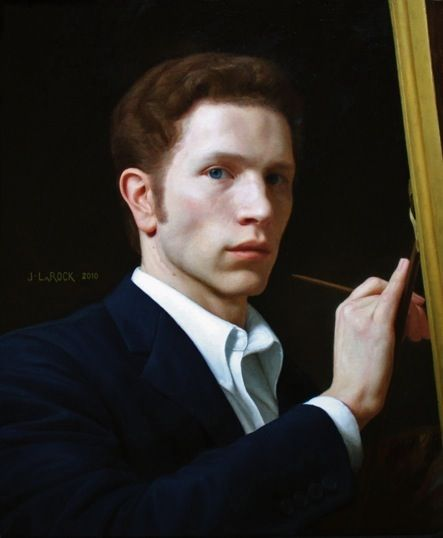 Joshua LaRock, Portrait of the Artist No resistance to those super handsome artists