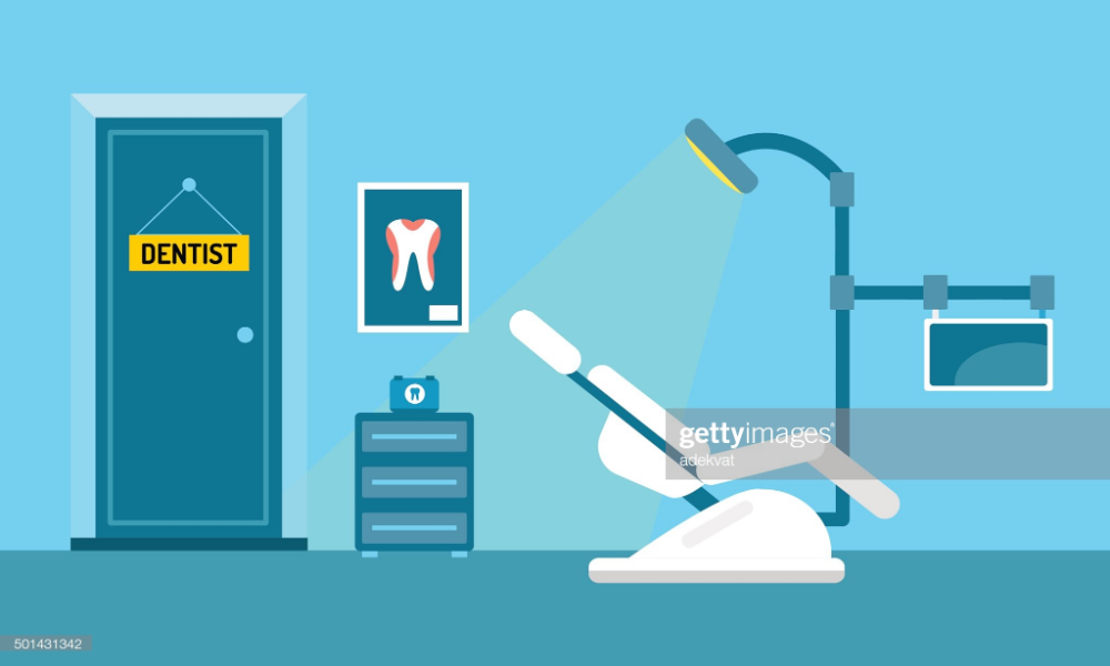 Dentist office illustration. Dentist doctor office vector. Dental... #doctoroffice