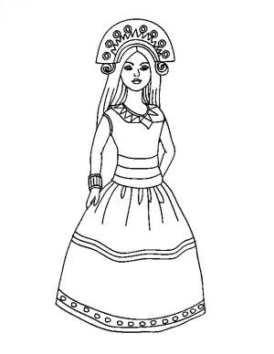 Inca Clothing Drawing