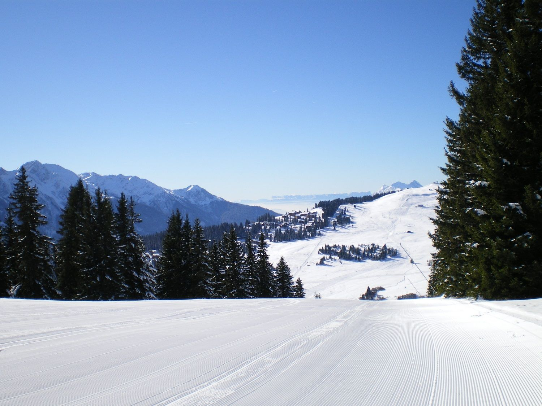 Piste Vierge Station De Ski Séjour Ski Ski