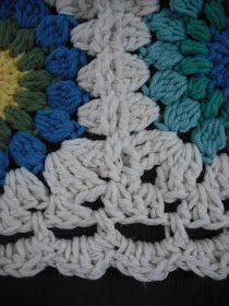 Purple Chair Crochet: Just Wow (Sunburst Granny is Finished!)