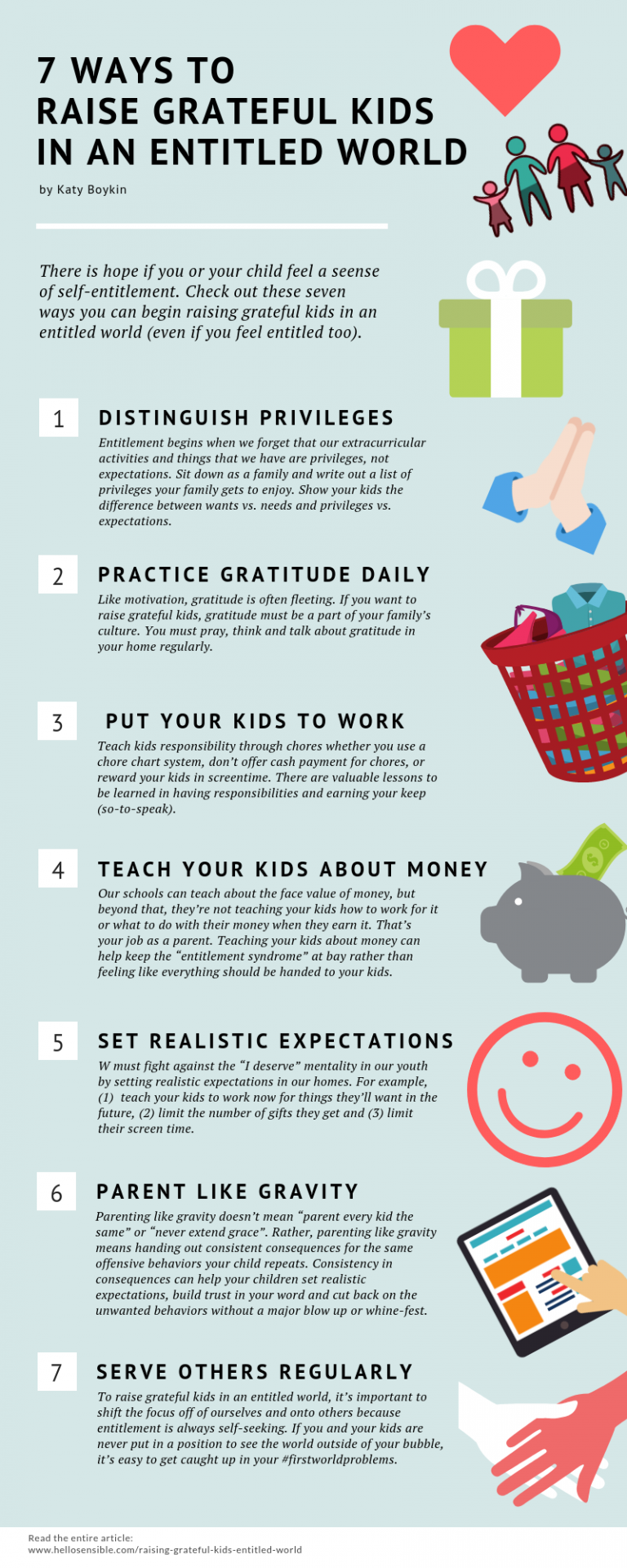 7 Ways To Raise Grateful Kids In An Entitled World Parenting