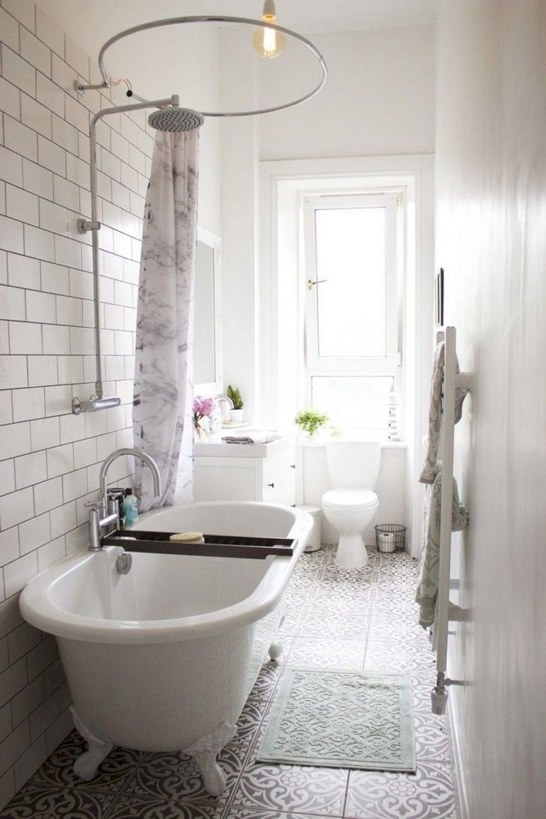 40 Cute Small Bathroom Tub Shower Remodeling Ideas Tiny House