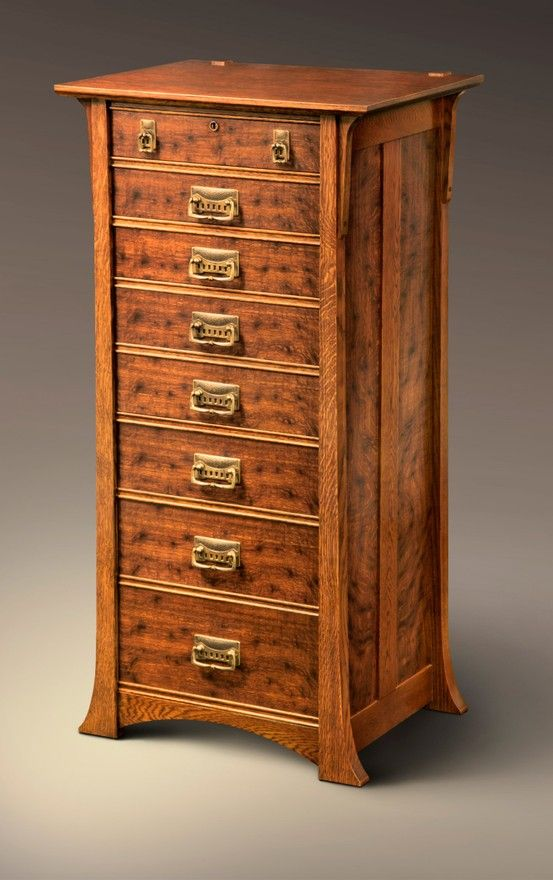 Lingerie Chest +1 by Clinton Parker of Royal Oak, Mich. 2013 NICHE Awards Finalist. Category: Furniture, Cabinetry