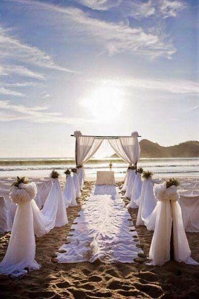 Decoracion de boda sencilla para boda de playa buscar - Decoracion boda playa ...