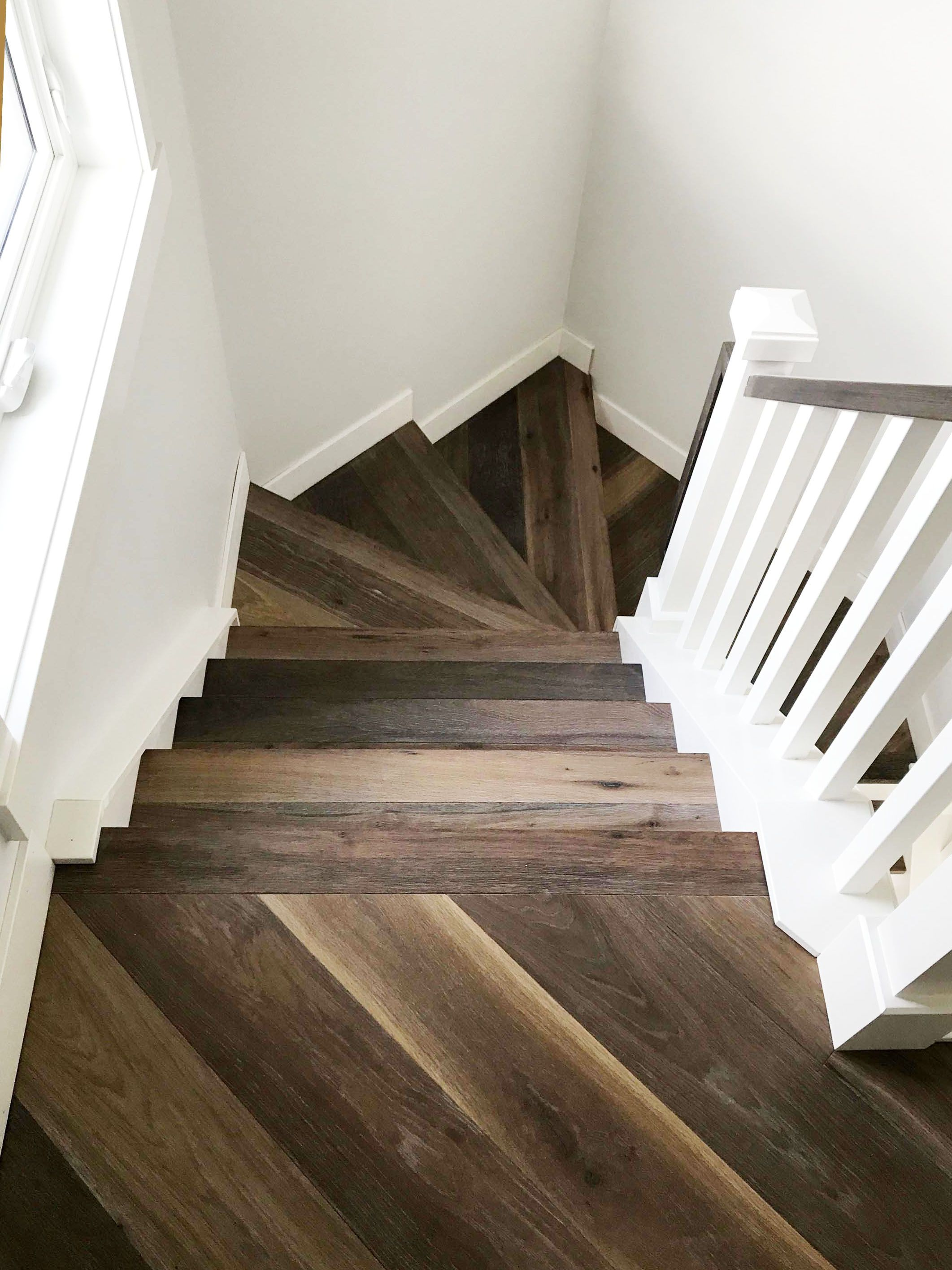 Best Transitional Staircase For Modern Farmhouse Modern 400 x 300