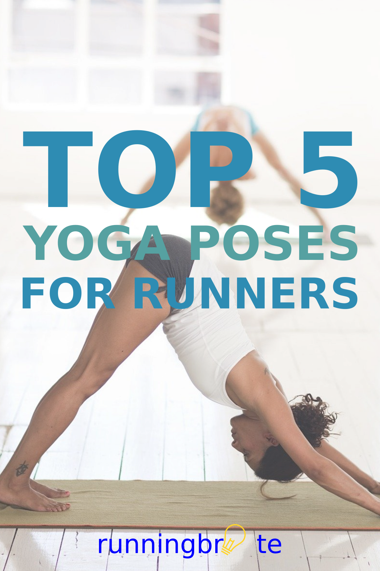 Top 5 Yoga Poses For Runners In 2020 Yoga Poses Human Body Facts Build Lean Muscle