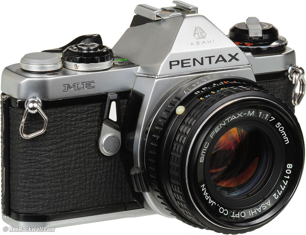 I'll always be loyal to Pentax - this is just like my first camera ...