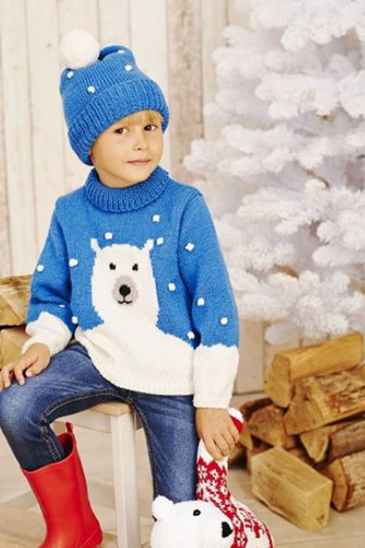 Polar bear knitting patterns to download today | Pinterest ...