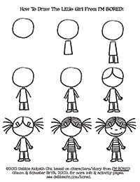 12 Ideas De Como Dibujar Personas Como Dibujar Personas Cómo Dibujar Dibujos Para Niños