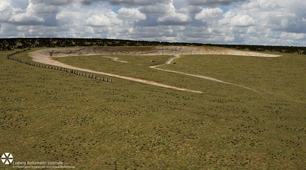 Arqueólogos descobrem monumento gigantesco enterrado perto de Stonehenge
