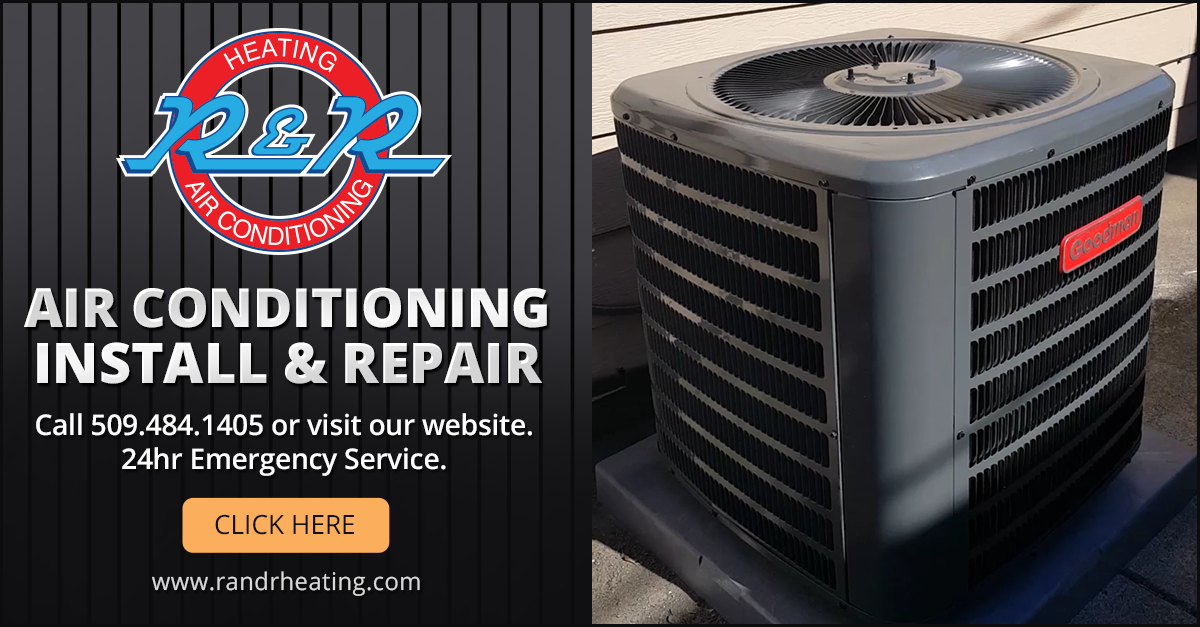 Air Conditioning Repair Install In Spokane Wa Call R R Heating