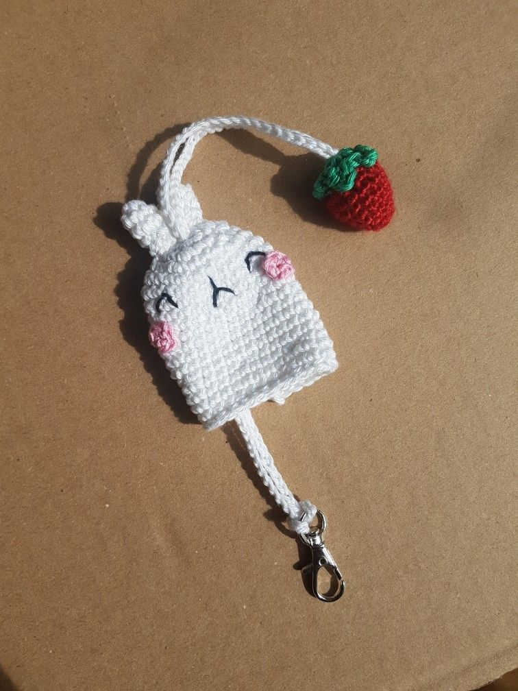 Keycover Keychain Crochet Gift Cadeau Totoro Molang Pieuvre