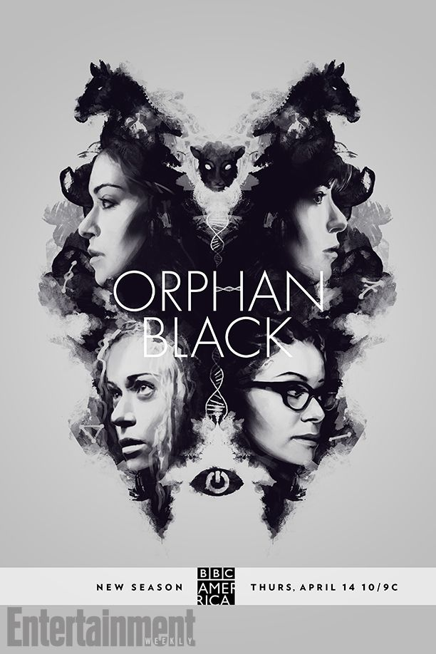 Orphan Black See The Fan Designed Poster For Season 4 Orphan Black Season 5 Orphan Black Orphan Black Serie