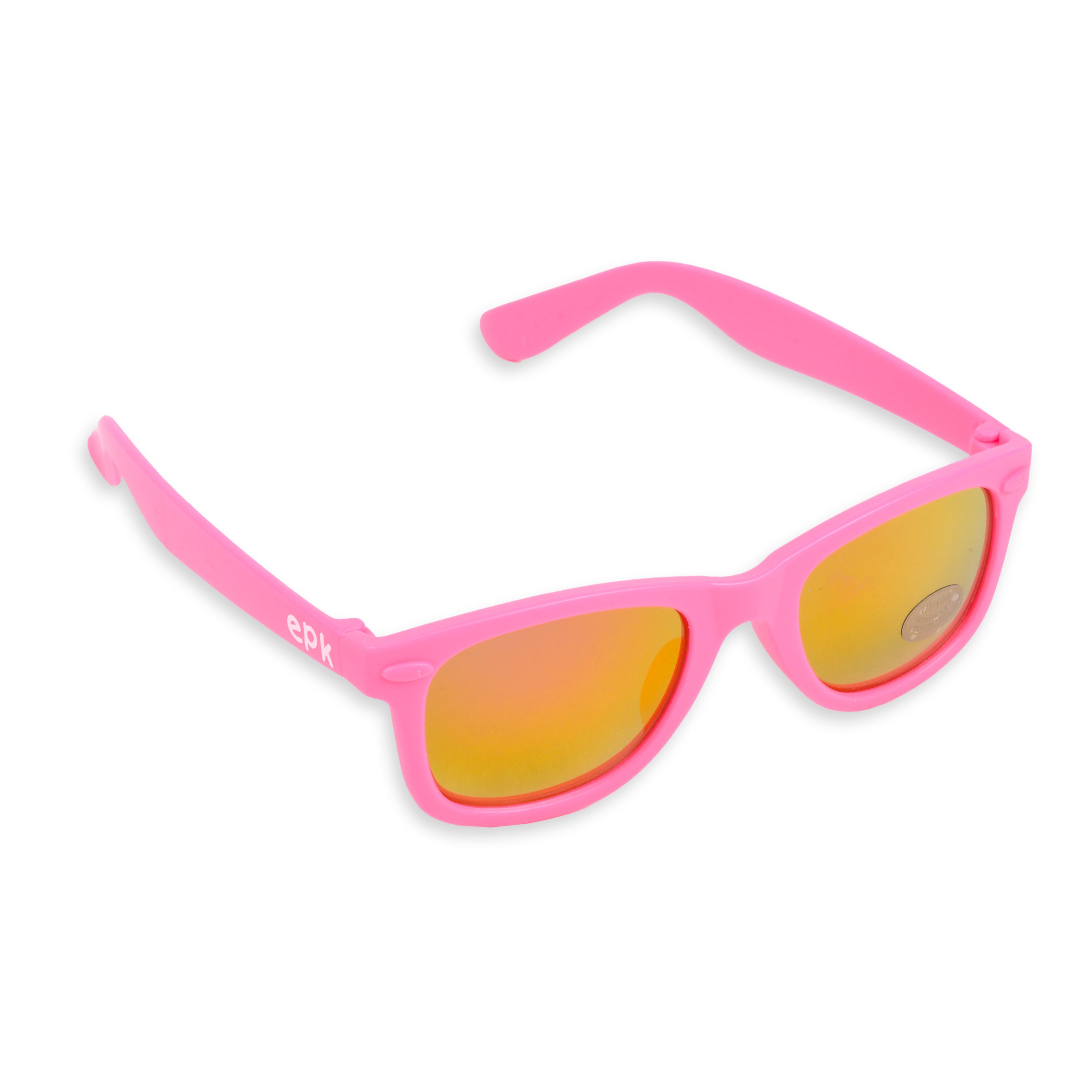 Lentes De Sol Epk Para Niña En Color Rosado Neón Square Sunglass Sunglasses Glasses