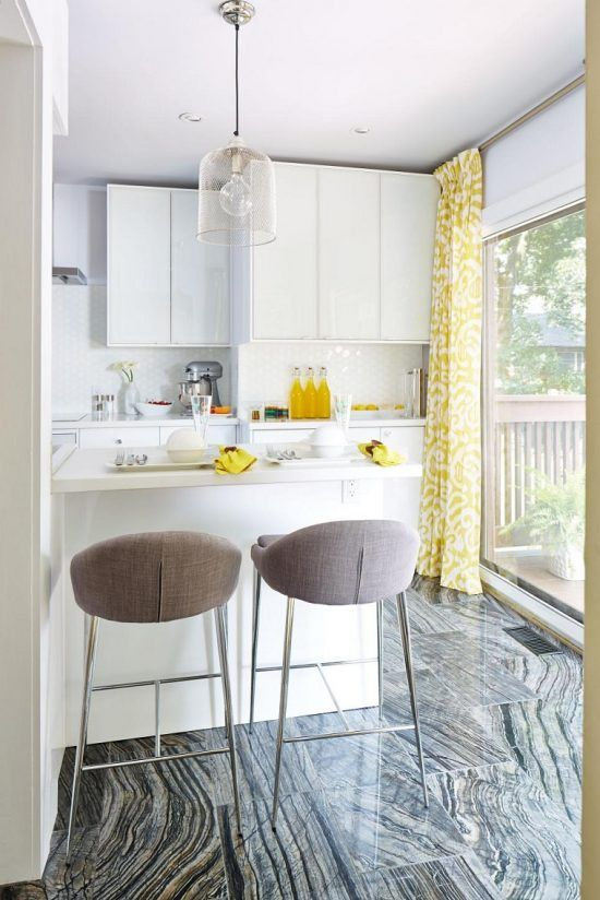 cocina pequeña en color blanco | COCINAS | Pinterest | Cocina ...